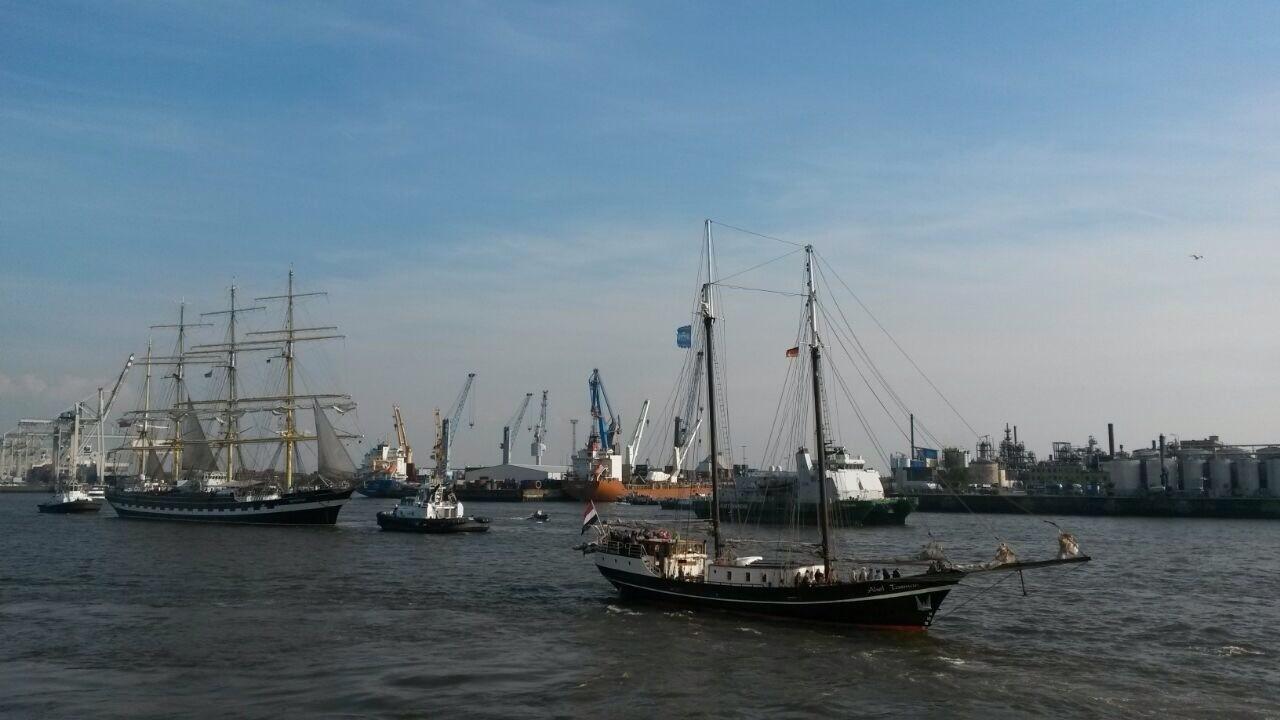 ABEL TASMAN - Hafengeburtstag Hamburg