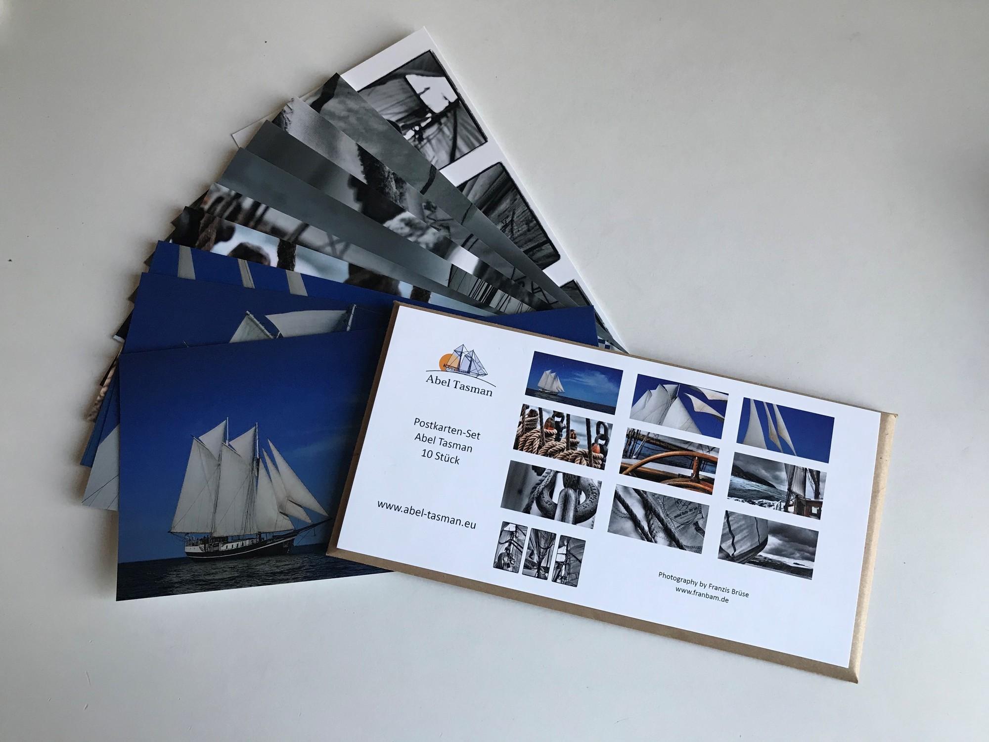 Postkartenset Abel Tasman